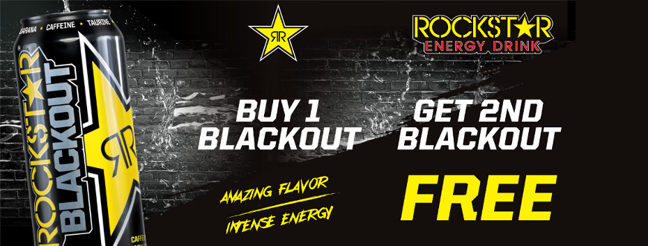 Rockstar Blackout 473ml BOGO