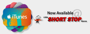 iTunes now available @ Little Short Stop